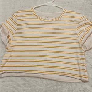 cropped t shirt from pac sun